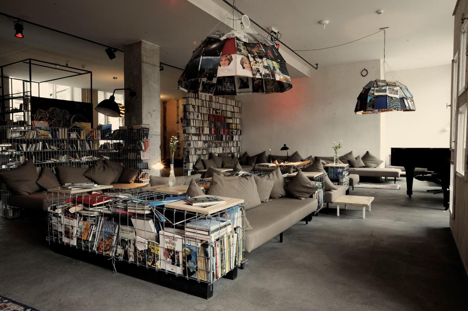 mejores hoteles con biblioteca Michelberger