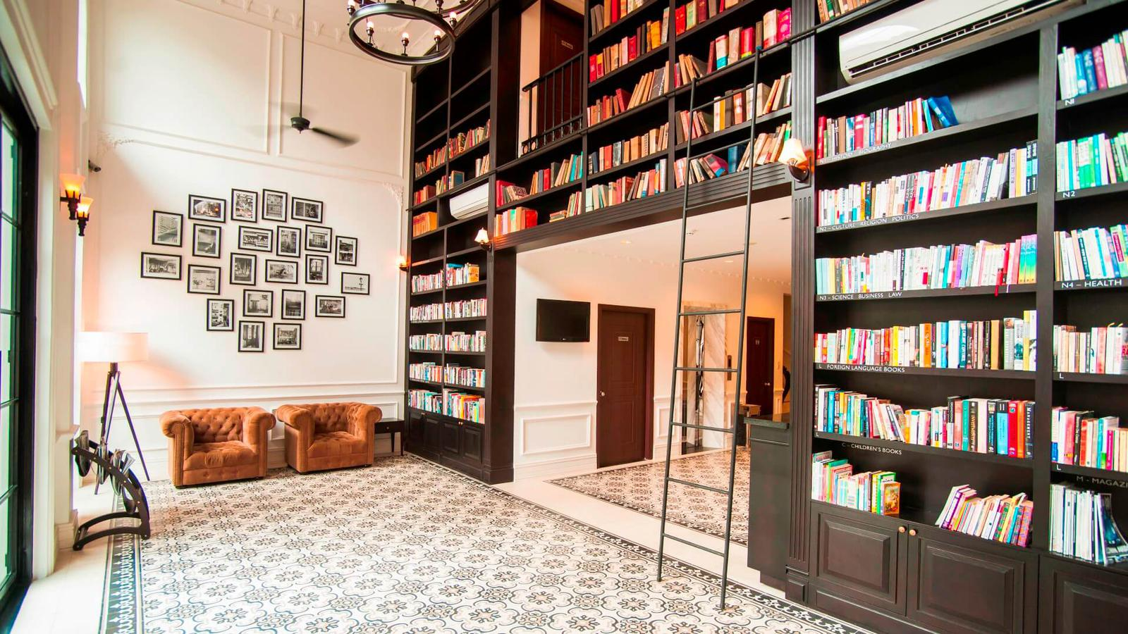 mejores hoteles con biblioteca The Alcove Library