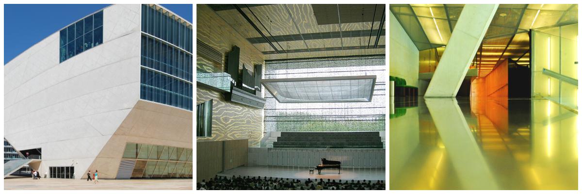Casa da Musica Collage