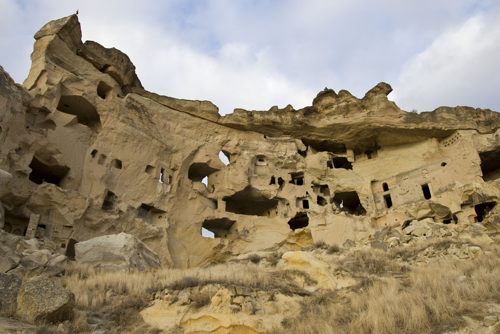 Cave-Dwellings-in-Cappadocia-by-William-Neuheisel