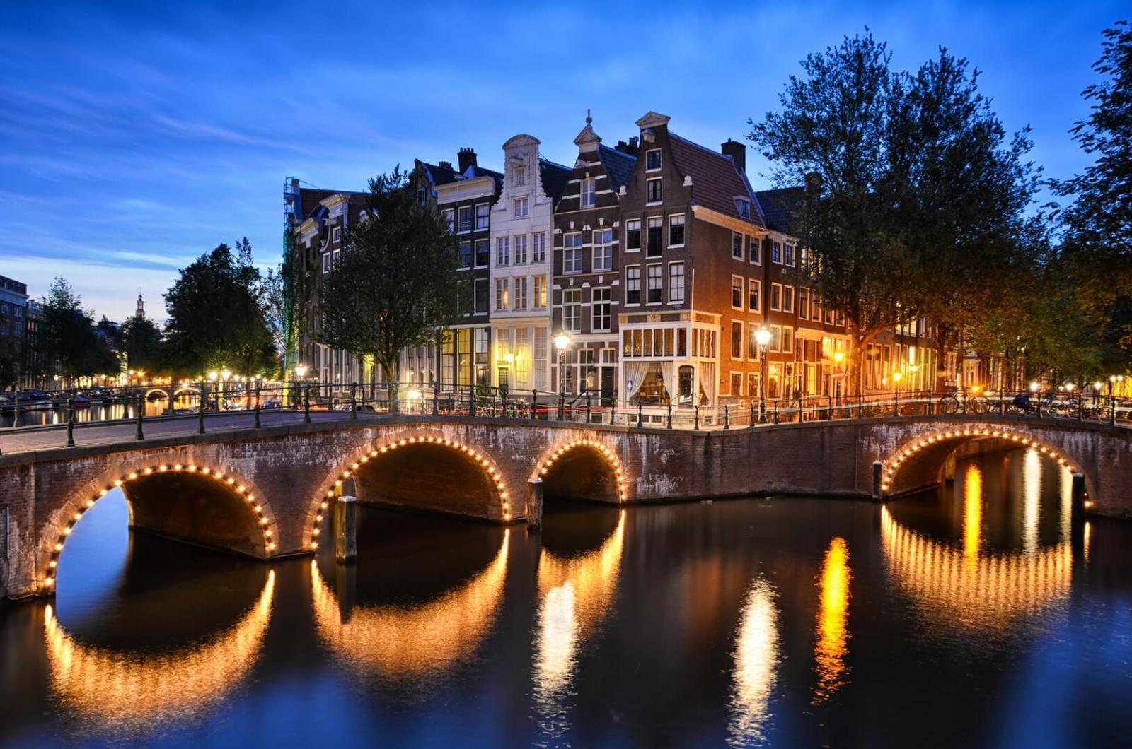 destinos Europeos de moda Amsterdam
