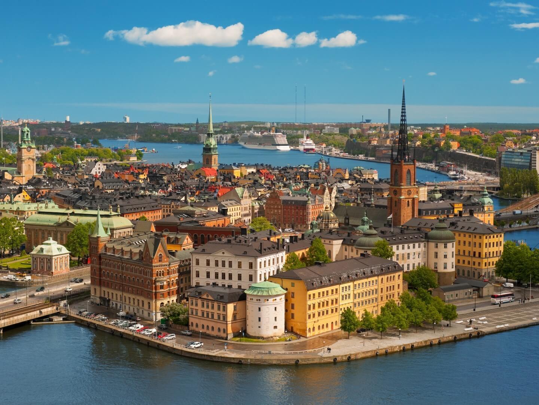 destinos Europeos de moda Estocolmo