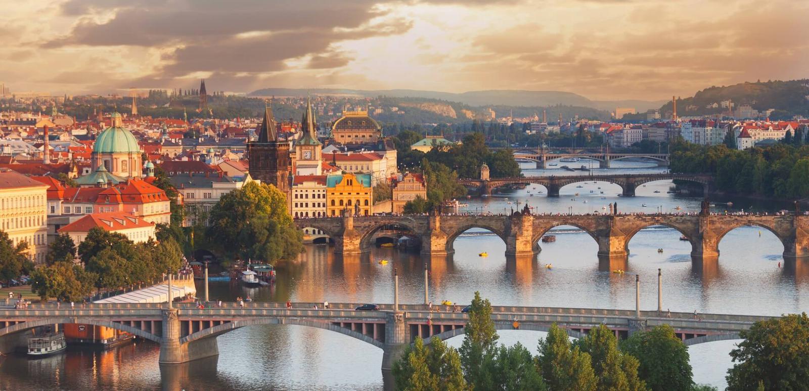destinos Europeos de moda Praga