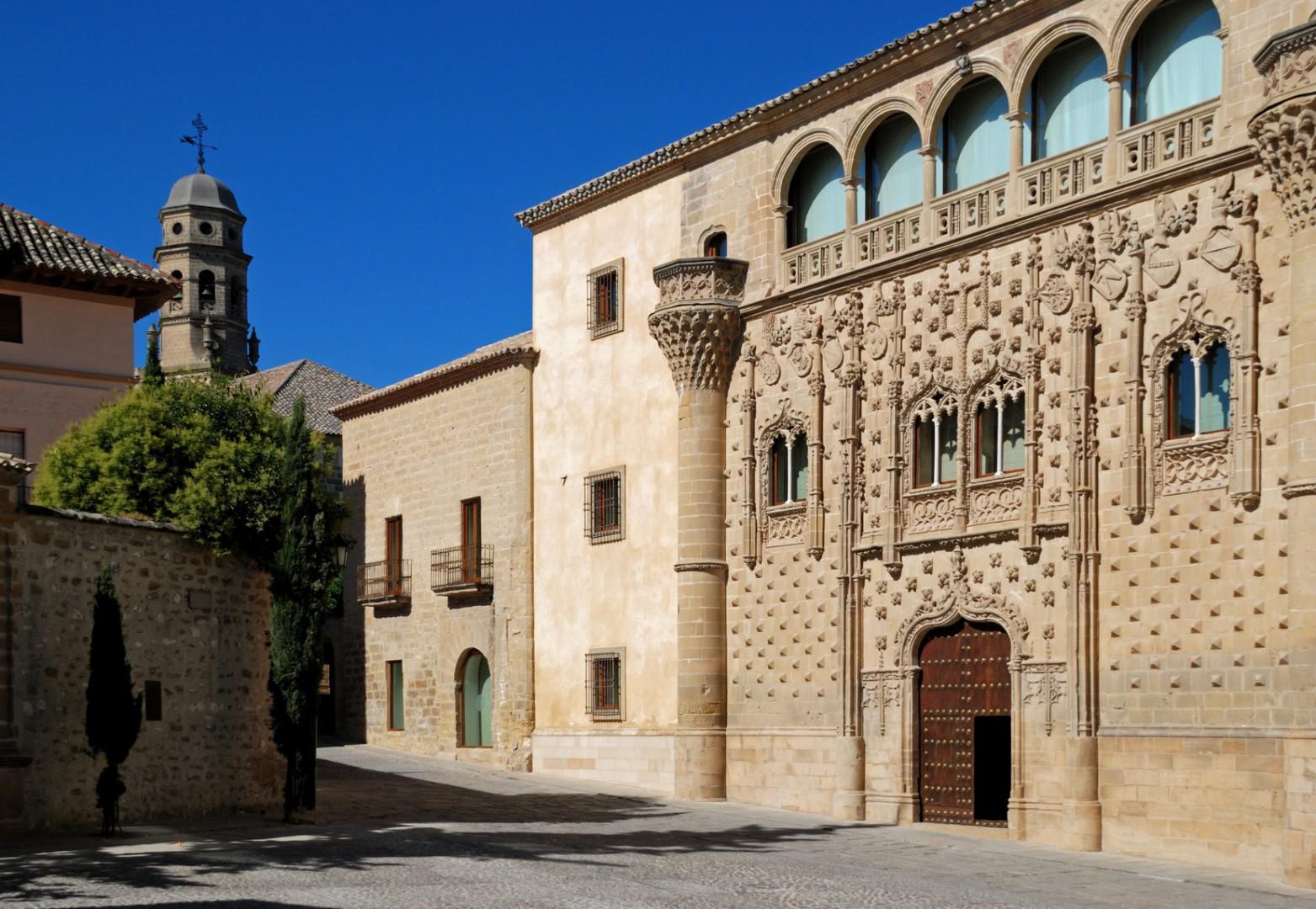 pueblos andaluces con encanto Jabalquinto Palace, Baeza, Spain © Arena Photo UK