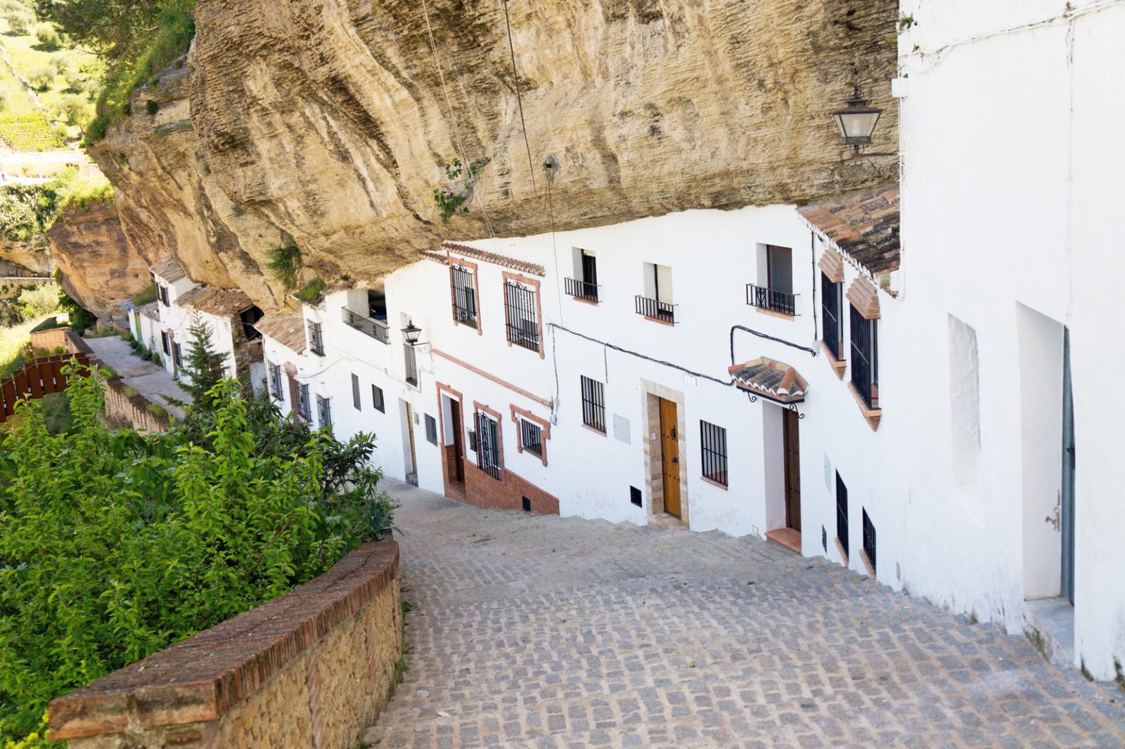 pueblos andaluces con encanto Calle Calacetas, Setenil