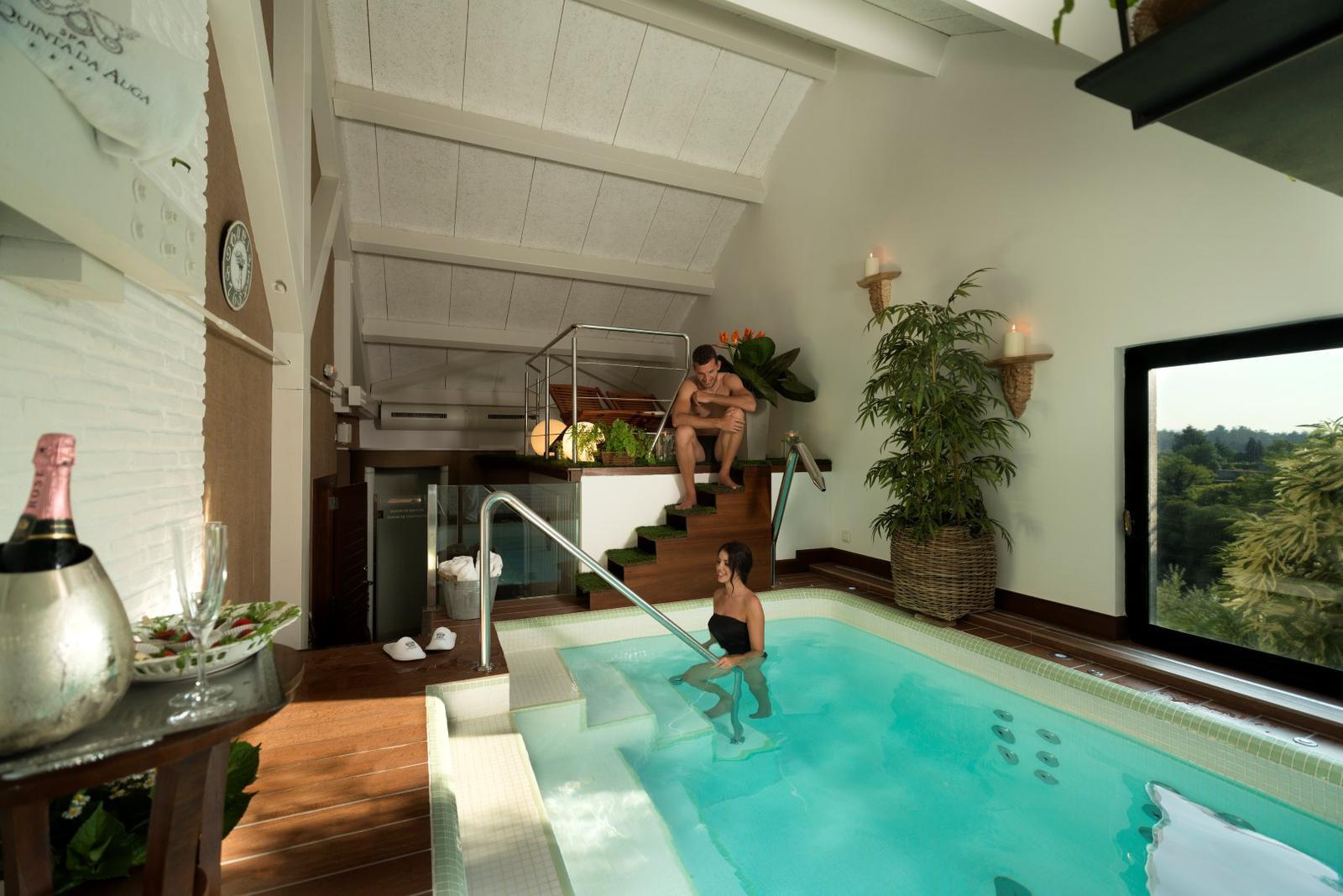 hoteles con spa de España SPA Privado Gral Hotel **** A Quinta da Auga