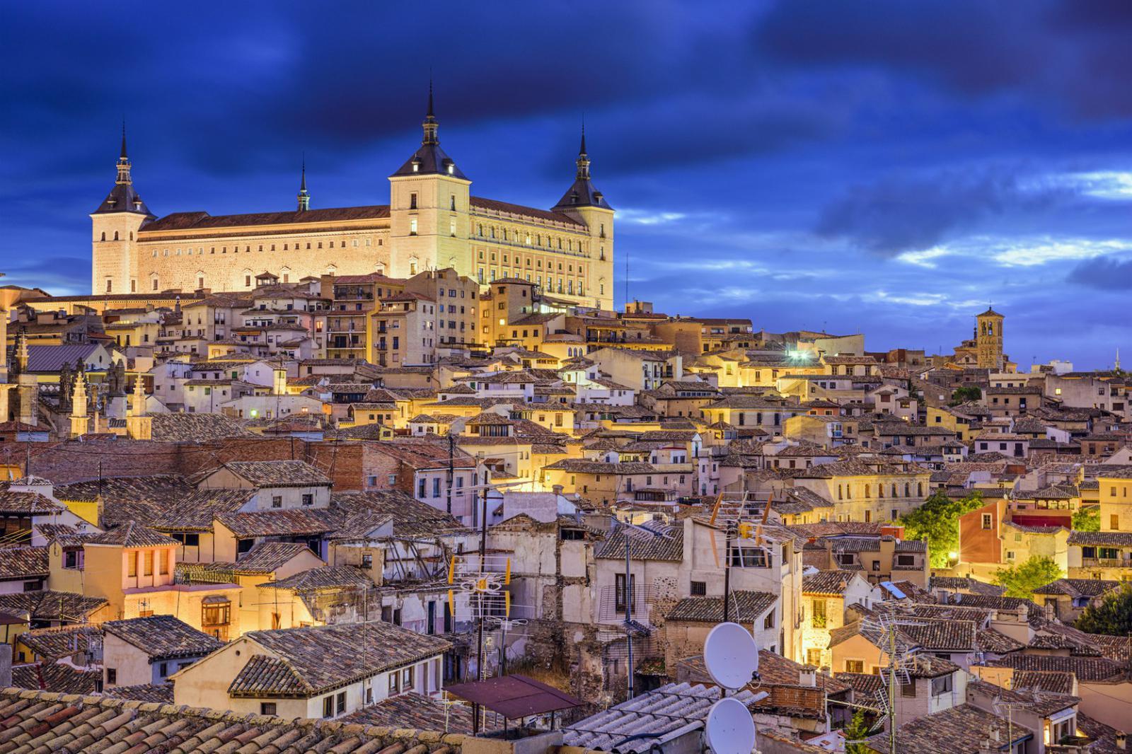 Toledo, Spain Town Skyline
