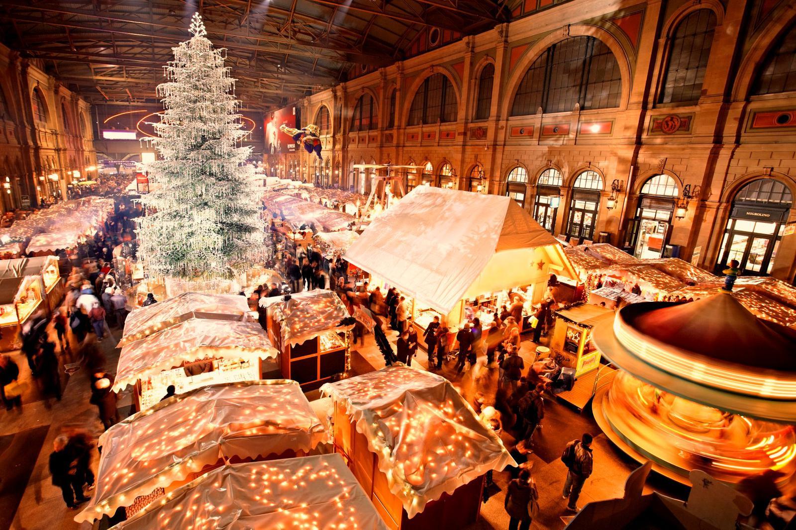 mercadillos navideños Zurich_Tree
