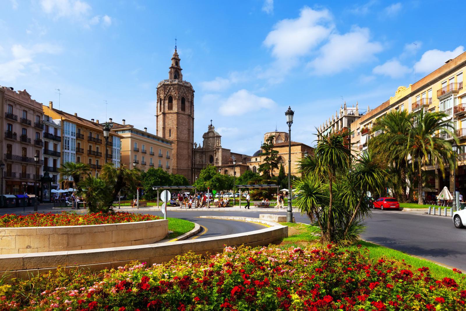 plaza de la reina en valencia