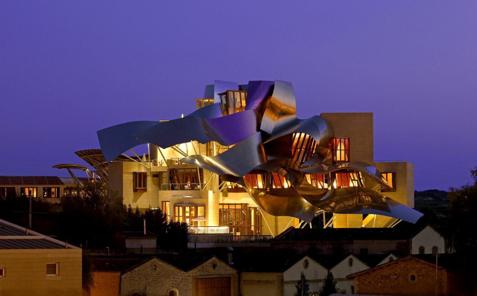 hoteles impresionantes Hotel Marqués de Riscal