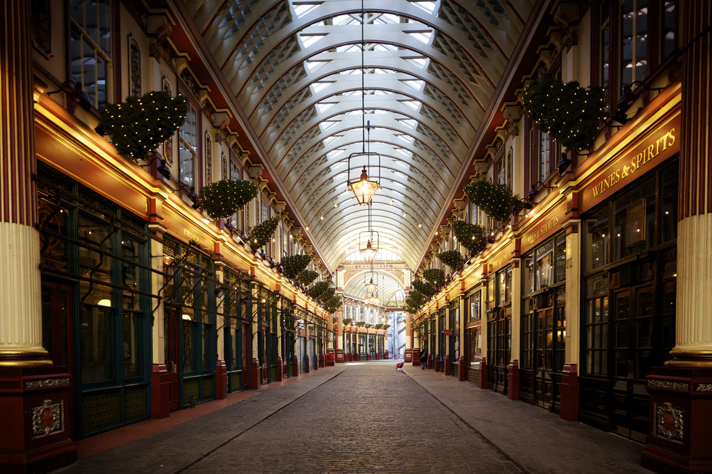 Leadenhall Market – Flickr Aurelien Guichard (CC BY-SA 2.0)