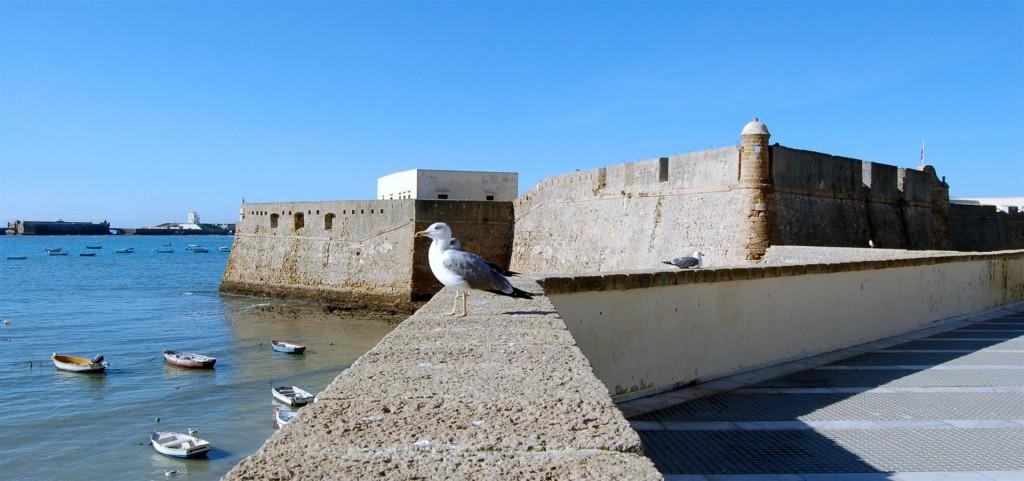 Castillo de Santa Catalina en Cádiz .Fotografía de Diego Bejarano