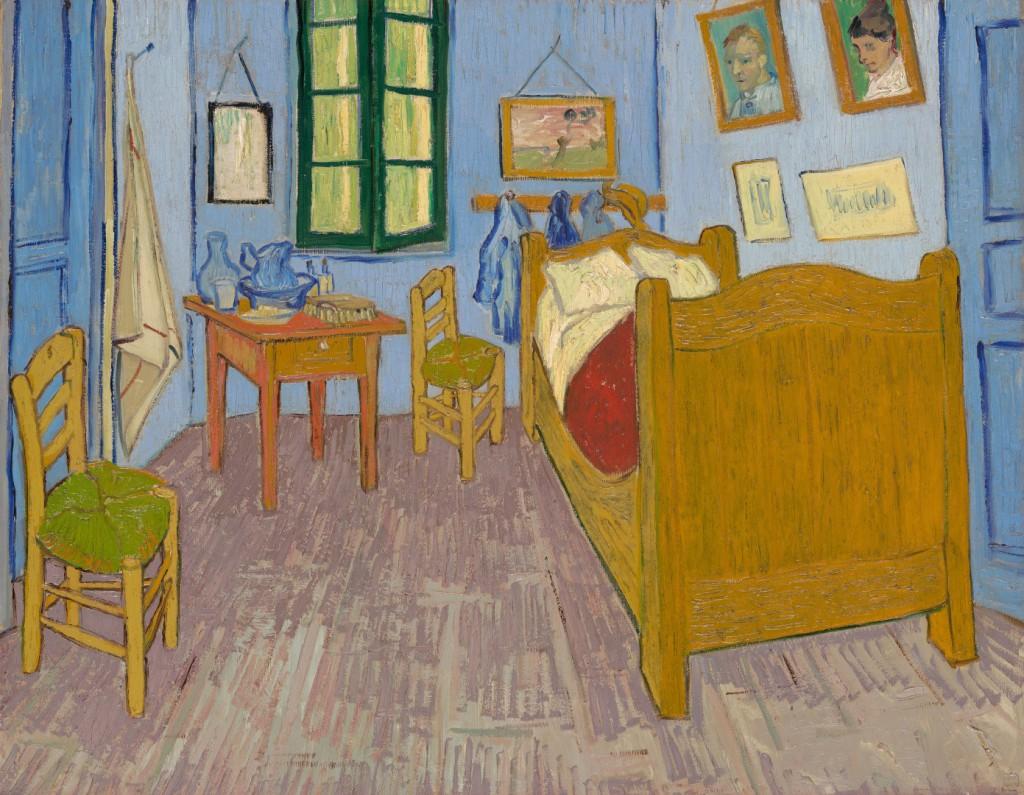 Habitación de Van Gogh (3ª edición). Expuesta en el Museo de Orsay (París, Francia)