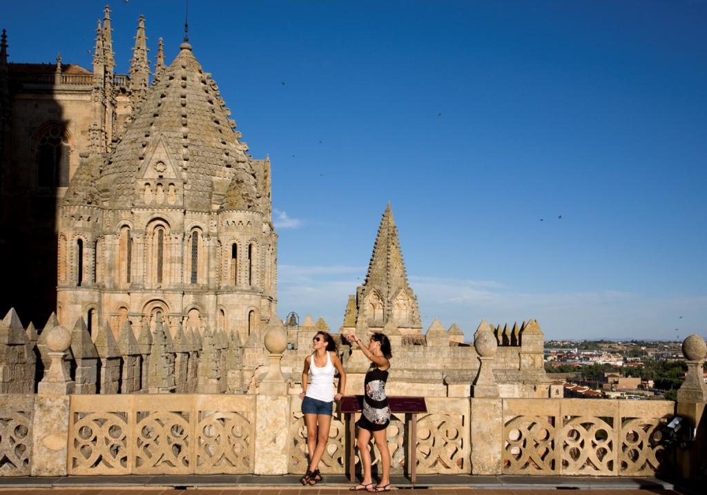 torres de la catedral de salamanca