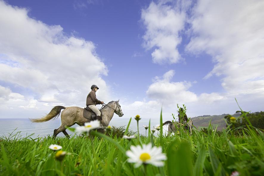 Ruta a caballo en Asturias