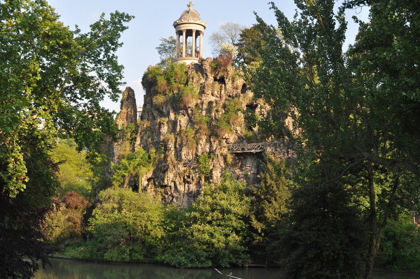 templo de Sibila buttes chaumont