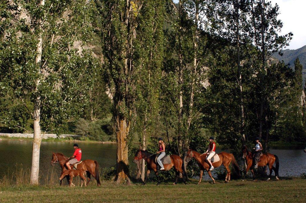 Ruta a caballo en Lleida