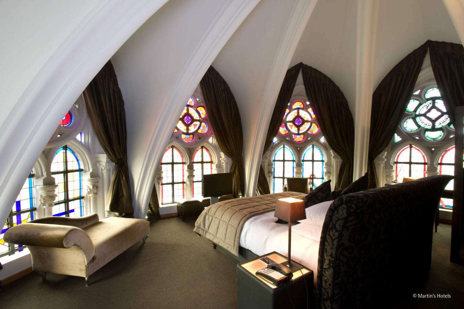 Suite con bóveda en hotel Martin's Patershof, Bélgica