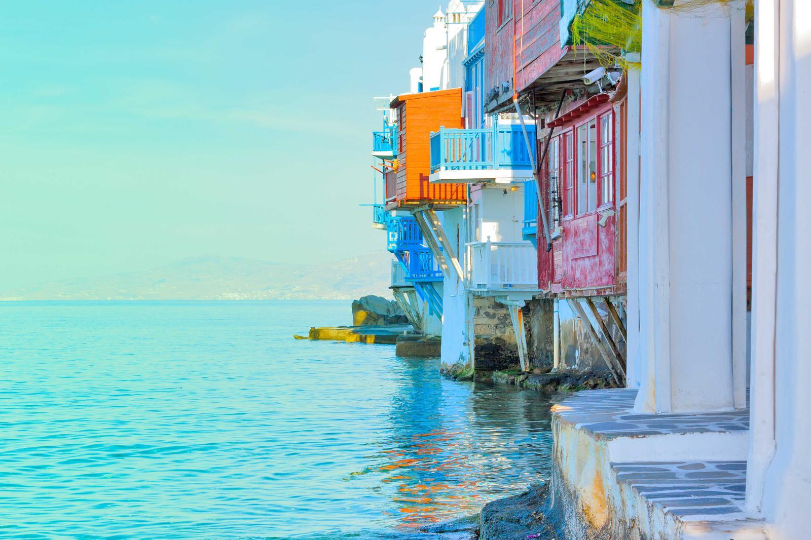 islas mediterraneo Mykonos, Grecia