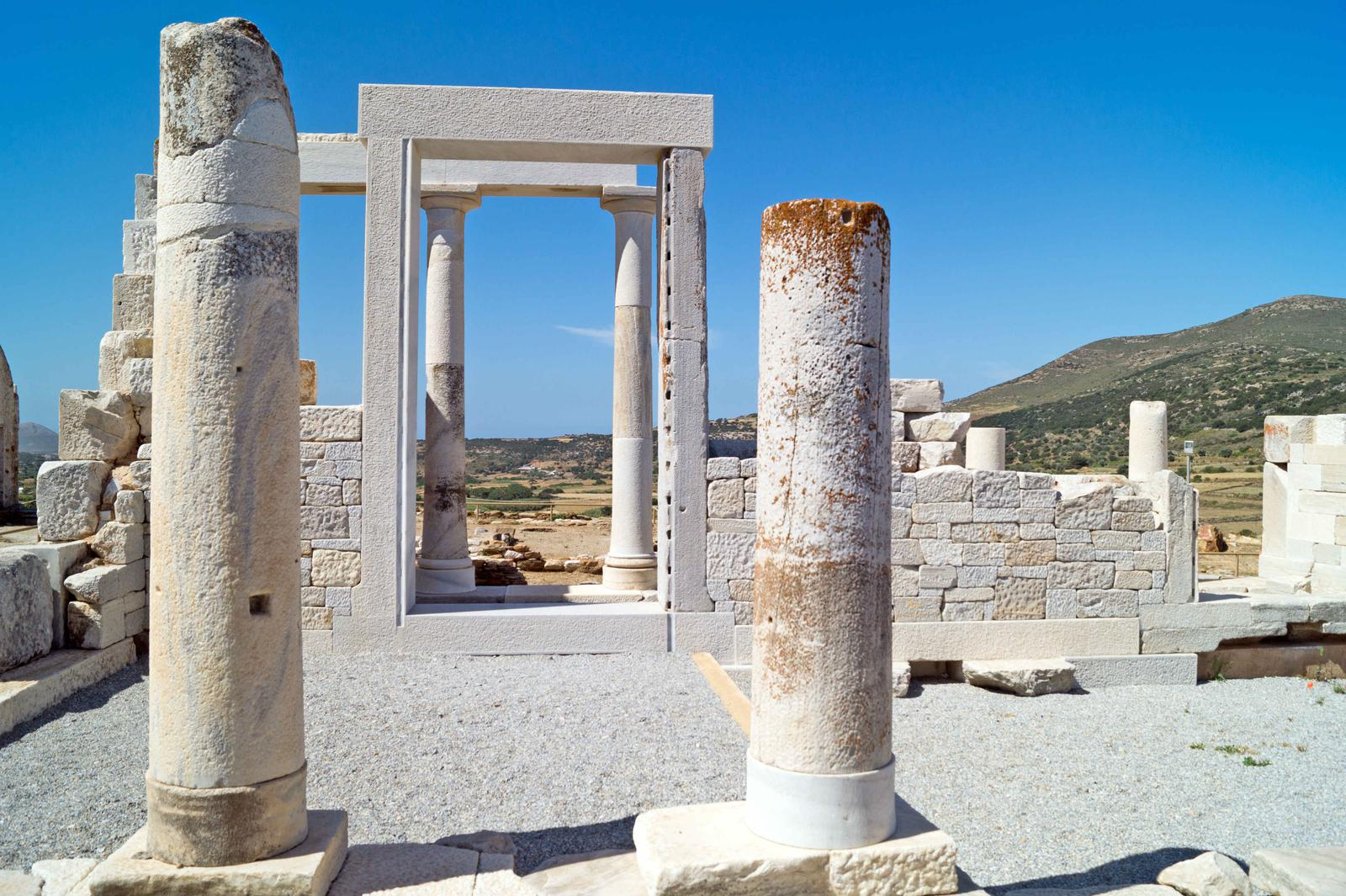 islas mediterraneo Naxos, Grecia