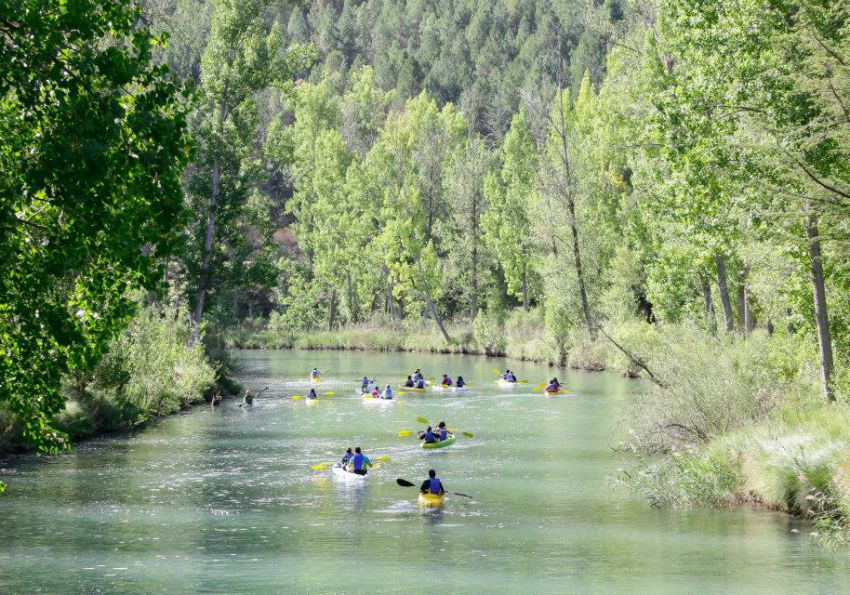 Piragüismo en Cuenca