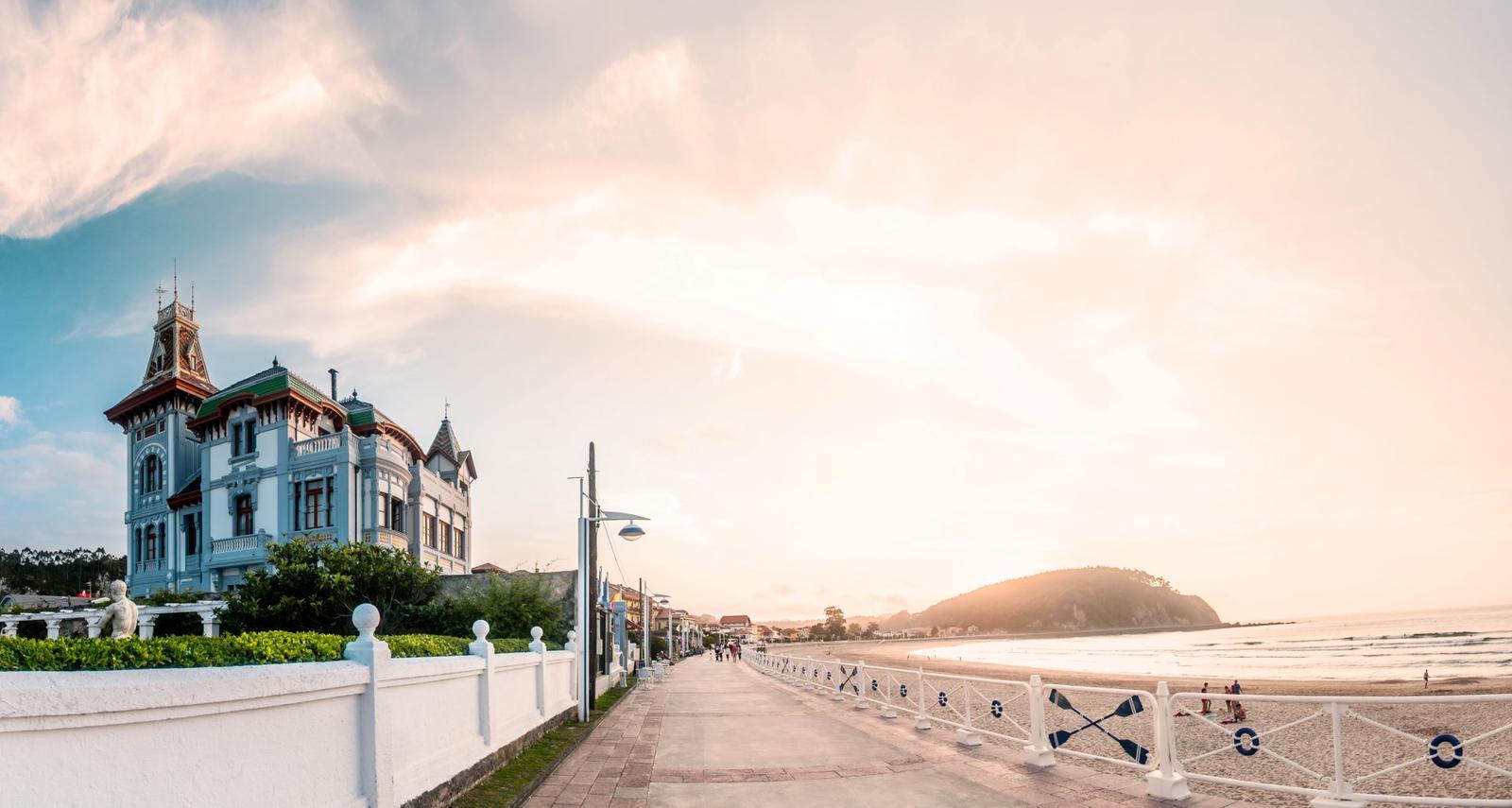 hoteles de playa Vistas Villa Rosario en RIbadesella, Asturias