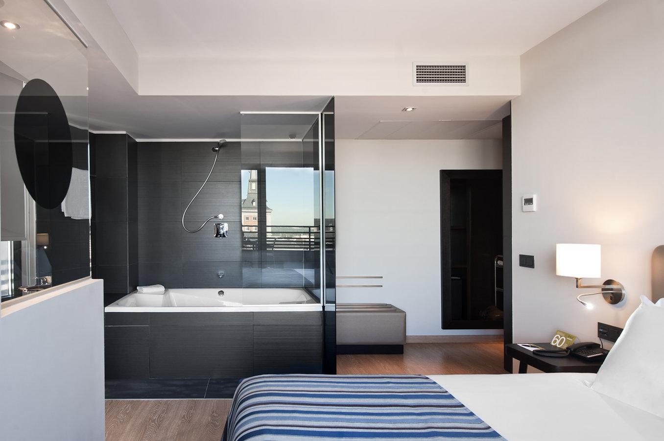 Habitación en Hotel Exe Moncloa en Madrid