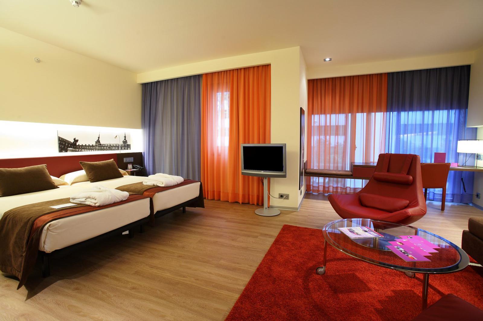 Habitación doble en Hotel Gran Colón en Madrid
