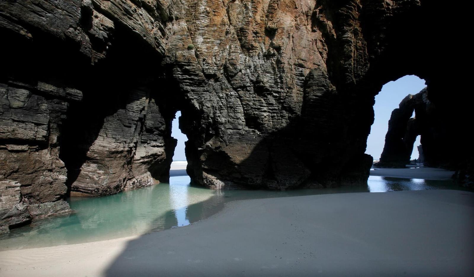 Playa de las Catedrales, Ribadeo, Lugo