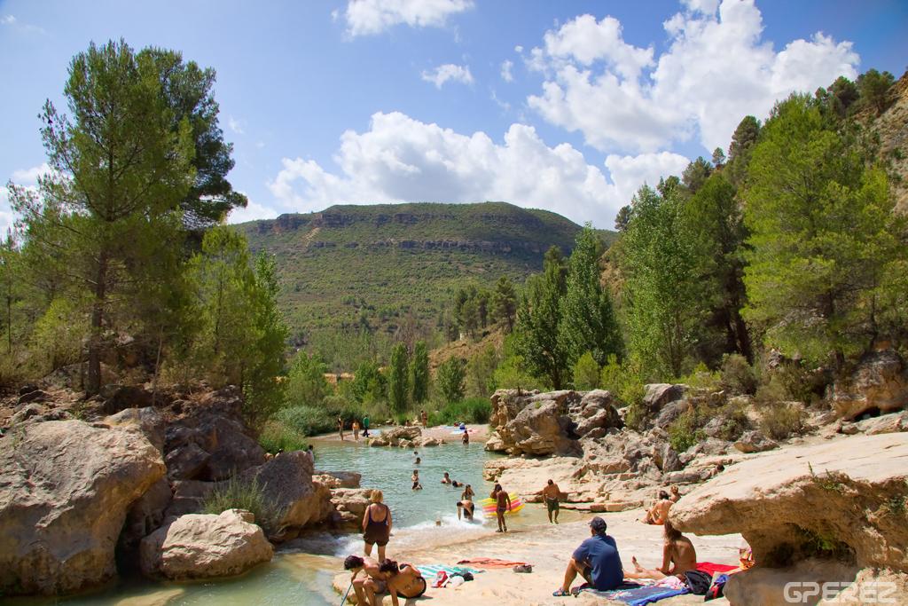 piscinas naturales las chorreras cuenca