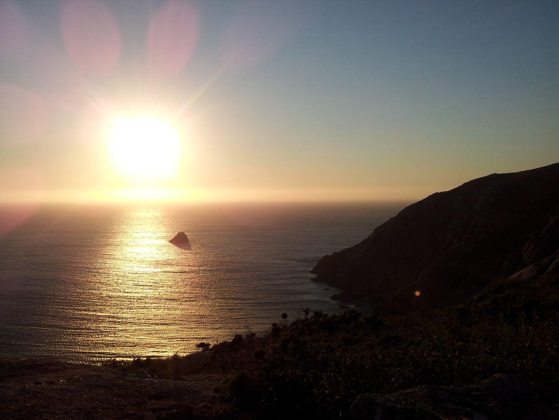 puesta de sol Finisterre, A Coruña