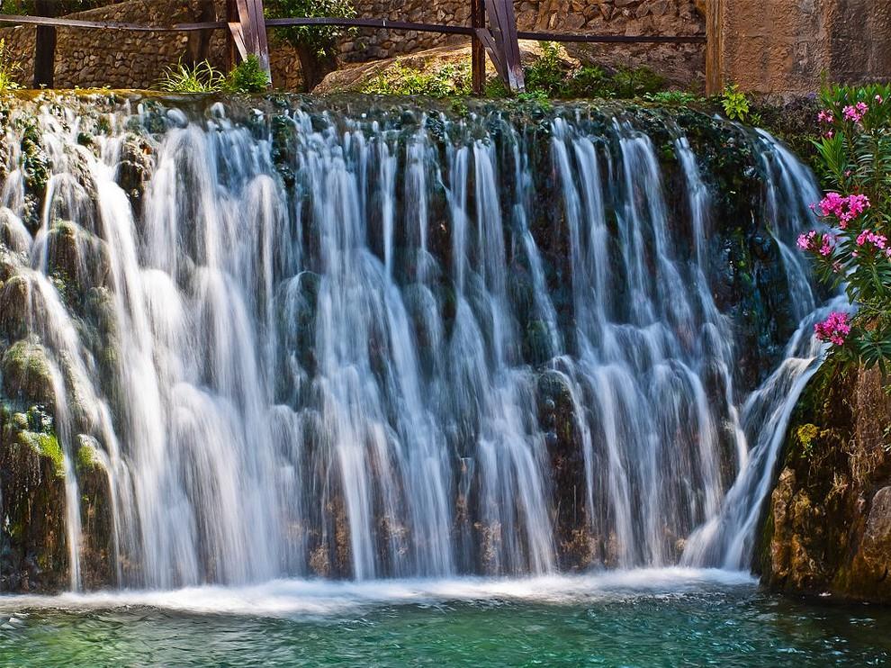 piscinas naturales Fuentes de Algar alicante