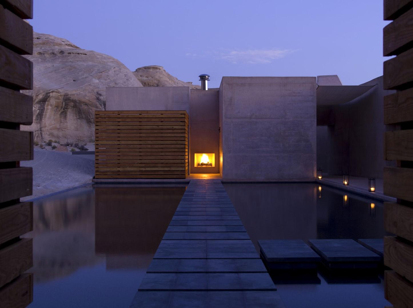 hoteles para ver las estrellas Amangiri spa