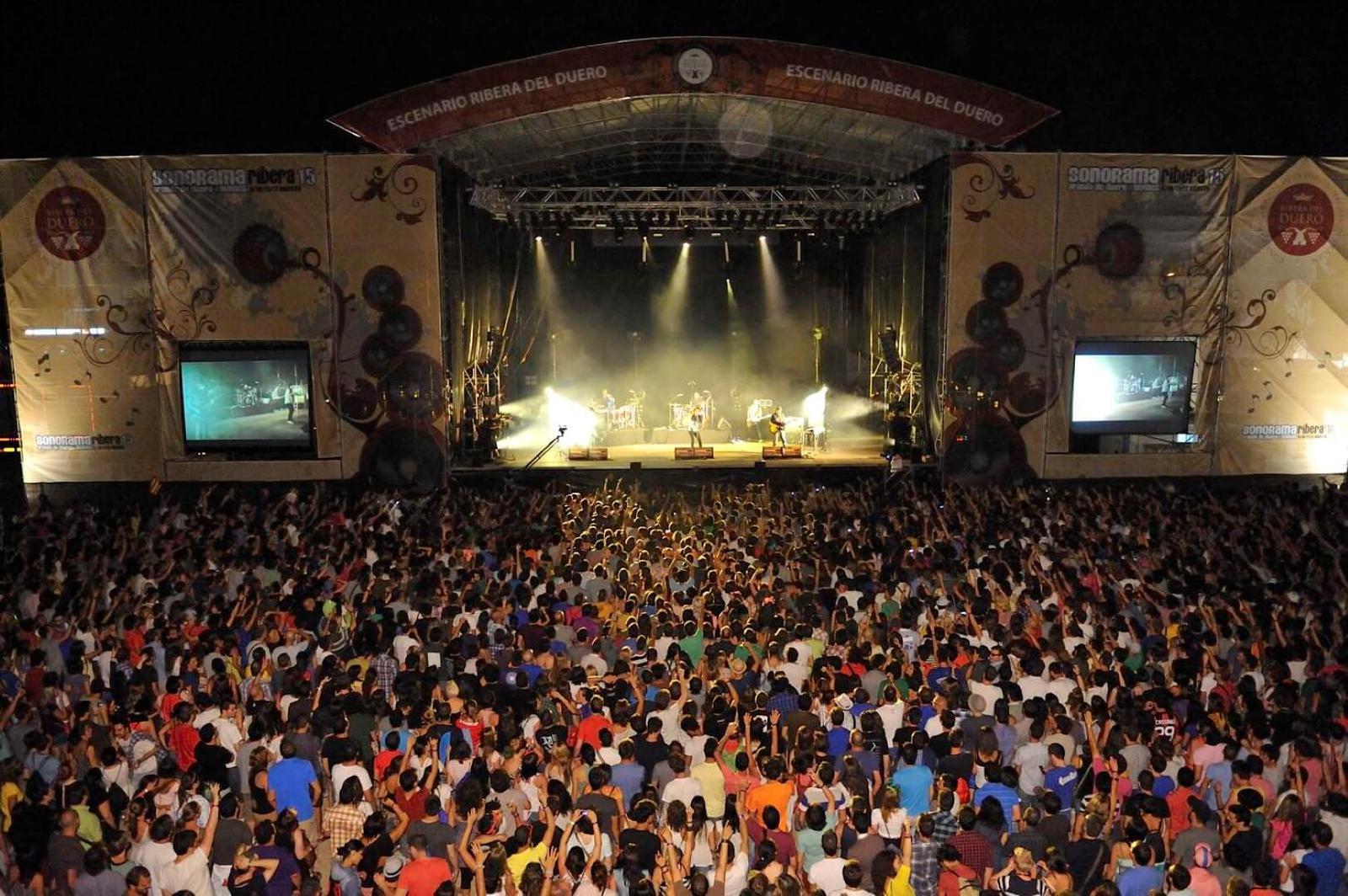 Ir a Sonorama Festival y disfrutar de conciertos, exposiciones, rutas enológicas...
