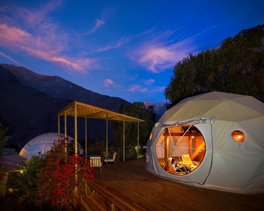 hoteles para ver las estrellas elquidomos_domo
