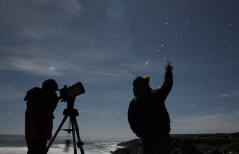 ver las estrellas turismo astronomico stargazing bufferzone