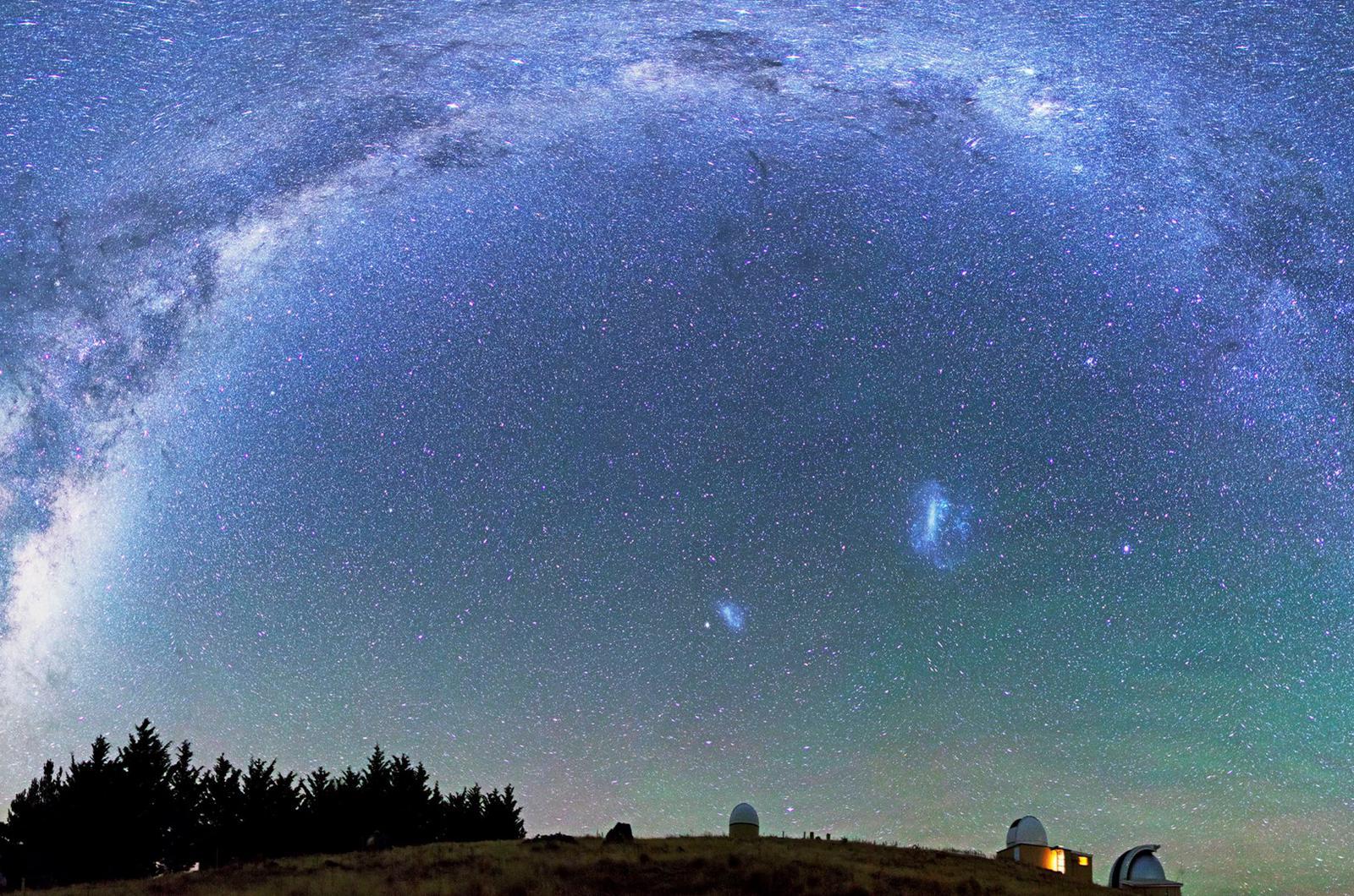 ver las estrellas turismo astronomico stargazing newzealand