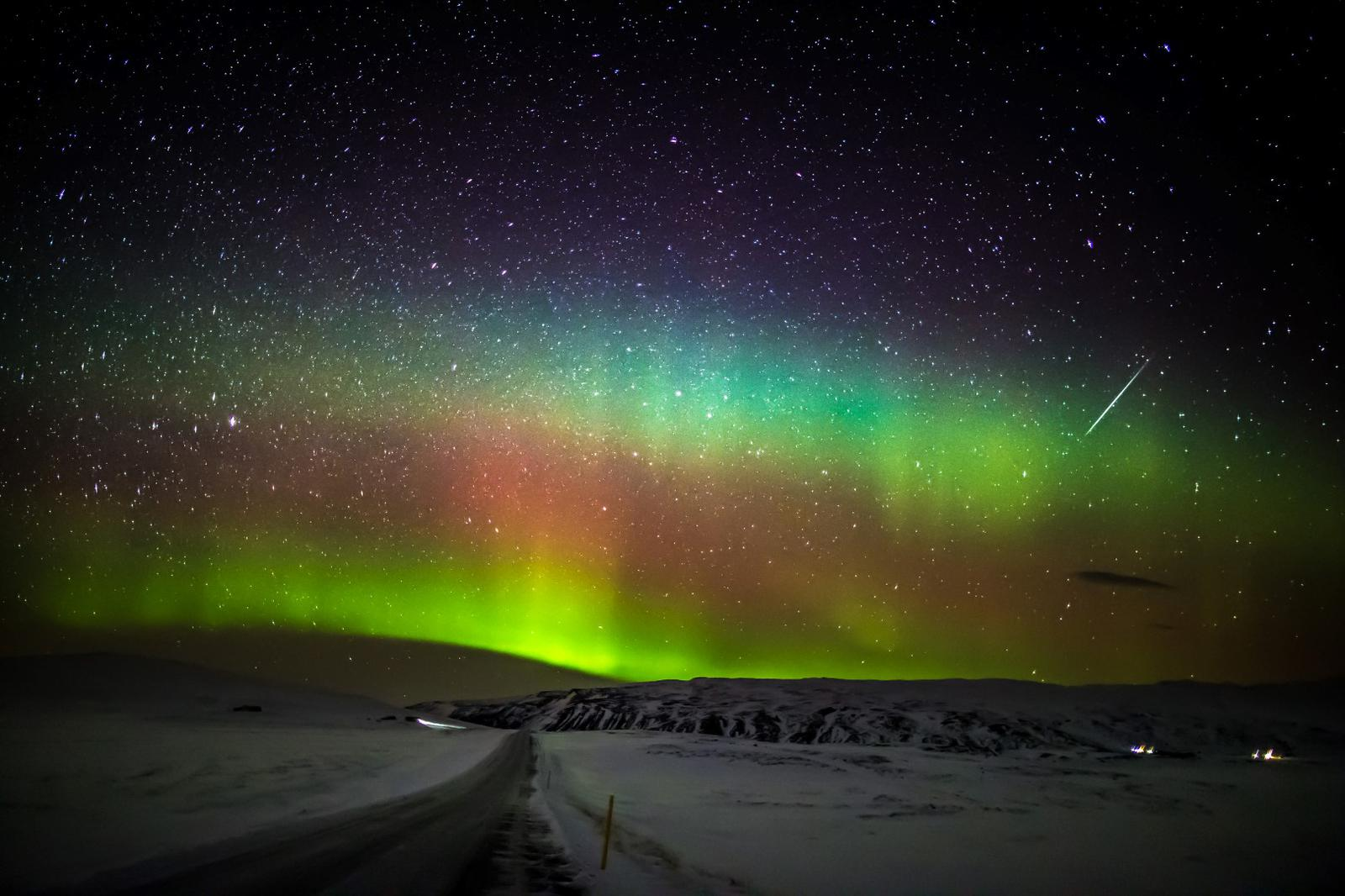 ver las estrellas turismo astronomico stargazing nordurljos