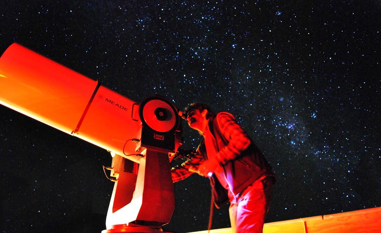 ver las estrellas turismo astronomico