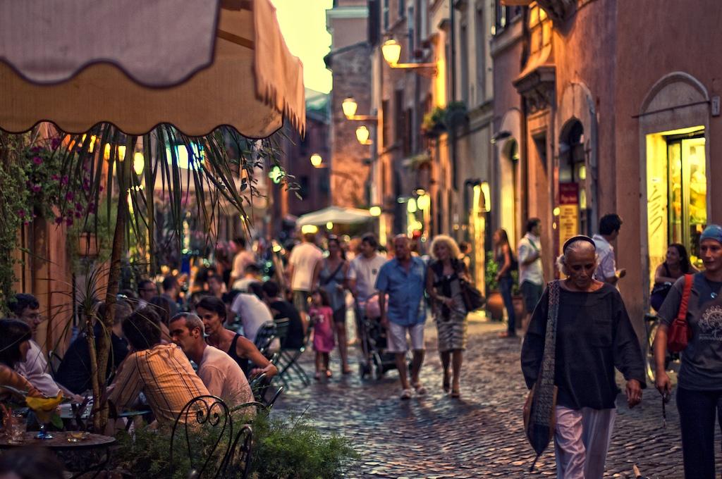 barrios europeos Trastevere