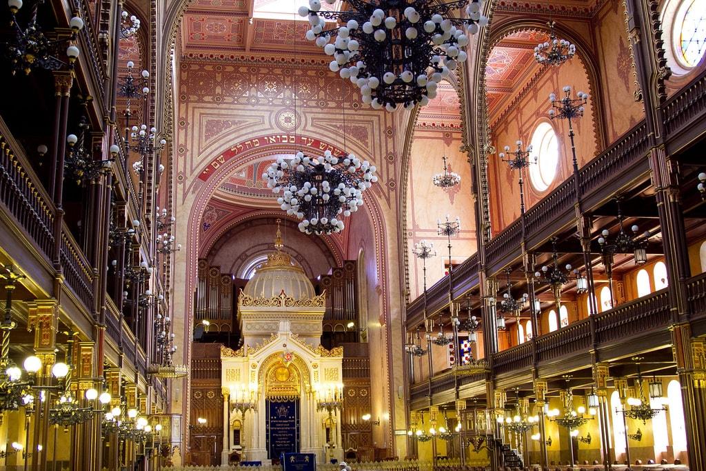 barrios europeos Sinagoga Budapest