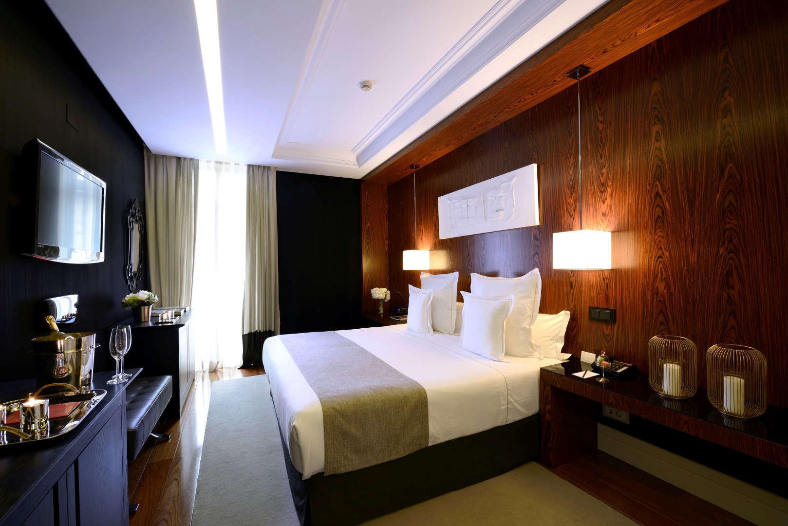 Suite junior en Hotel Único en Madrid