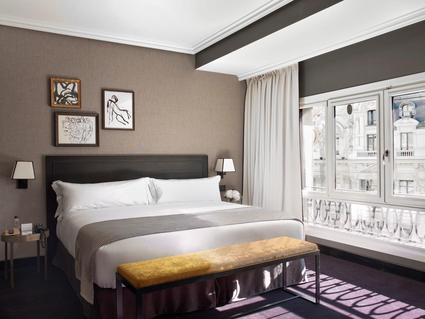 Habitación en The Principal Madrid Hotel