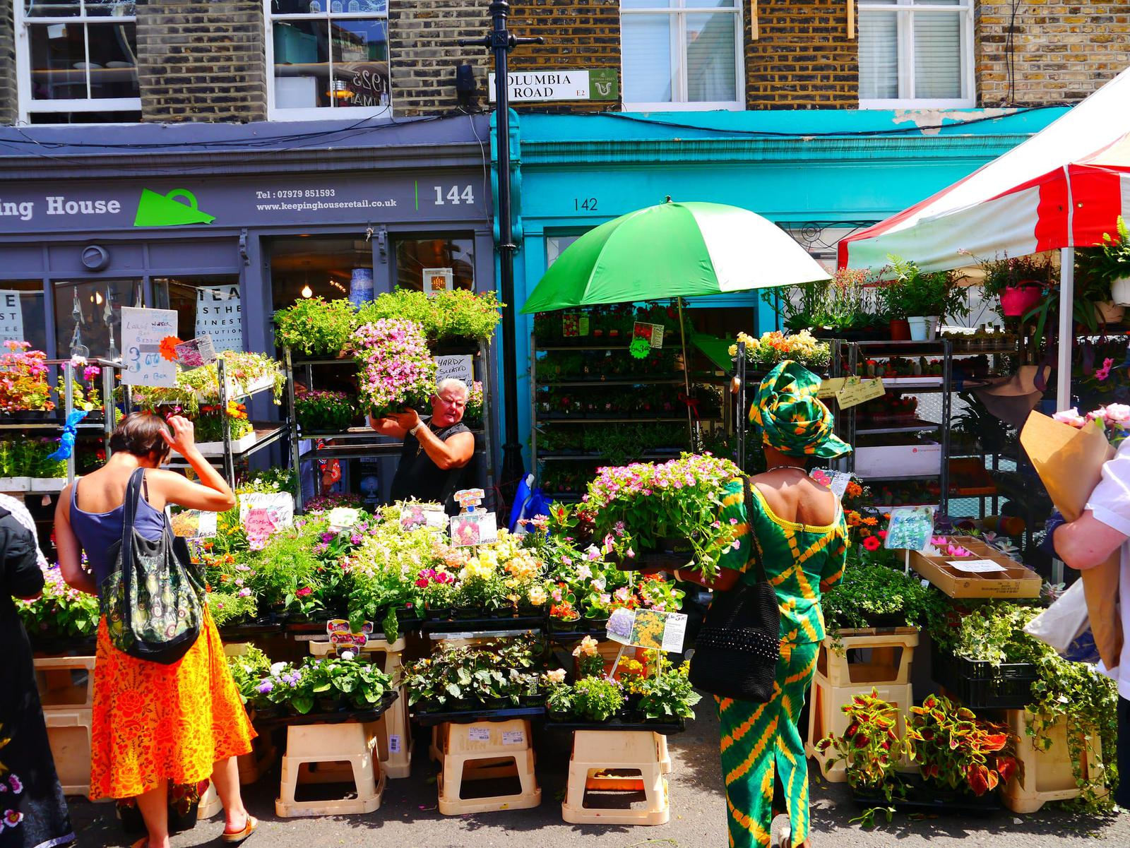 barrios europeos london flower market