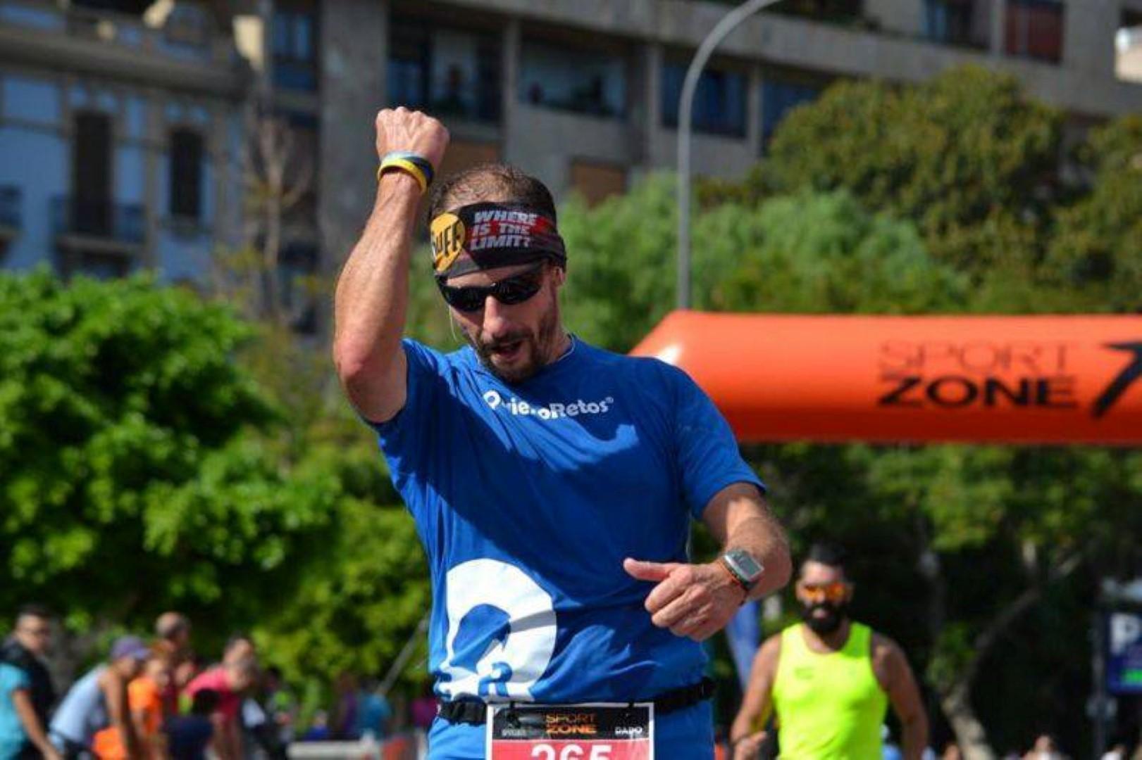 Corredor maratón Tenerife