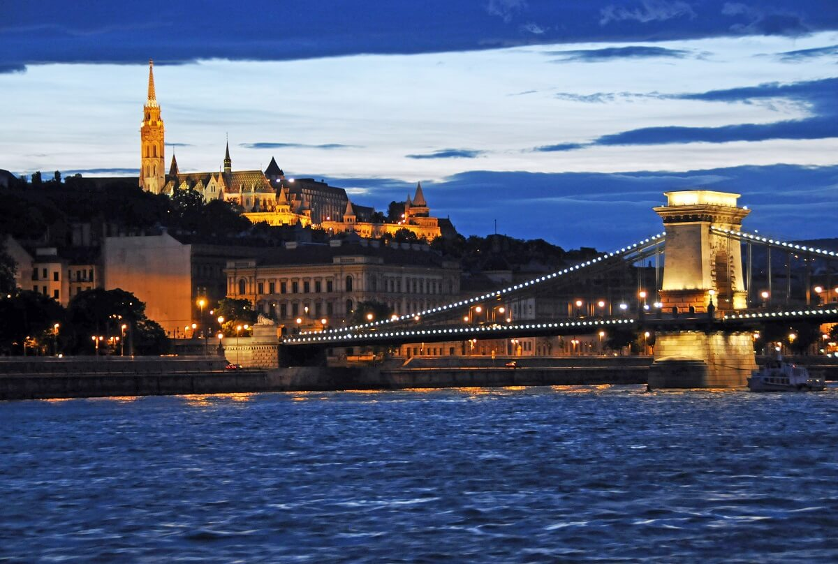 Romantic city breaks for couples - Budapest, Hungary