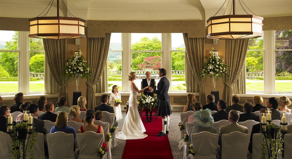 Wedding venue: Gleneagle