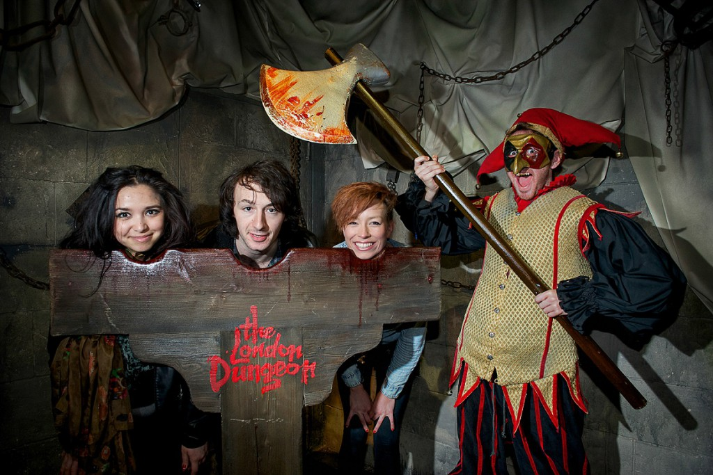 London Dungeons - perfect museum for kids