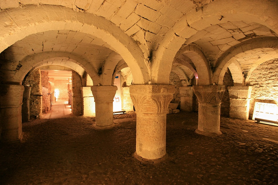 The Castle Crypt is a must-see for your weekend in Oxford.