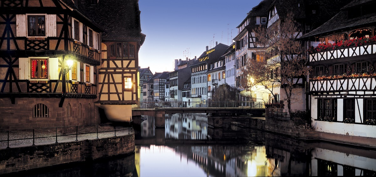 Romantic city breaks for couples - Strasbourg